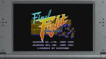 Tráiler de 'Final Fight' para la Consola Virtual de New Nintendo 3DS