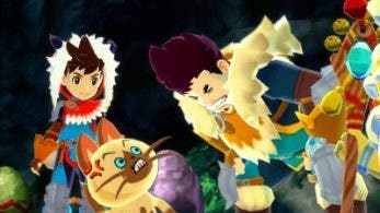 Nuevos detalles y capturas de 'Monster Hunter Stories'