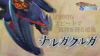 Un nuevo corto de 'Monster Hunter Stories' nos presenta al Nargacuga