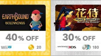 My Nintendo Europa añade descuentos para 'EarthBound Beginnings' y 'Hana Samurai'