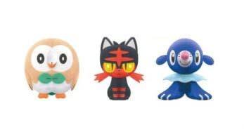 Los peluches de Rowlet, Litten y Popplio ya se pueden reservar en Play-Asia