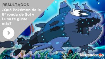 Resultados de la mini-encuesta sobre la 6ª ronda de Pokémon para 'Sol y Luna'