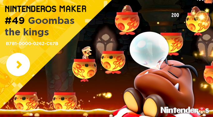 Nintenderos Maker #49: Goombas the kings