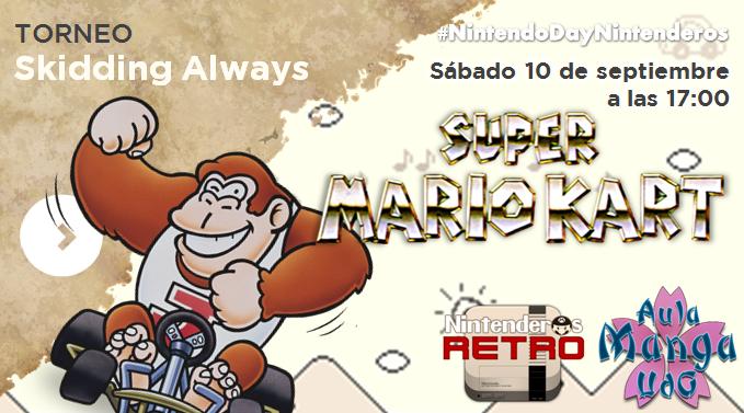 Banner Torneo Super Mario Kart