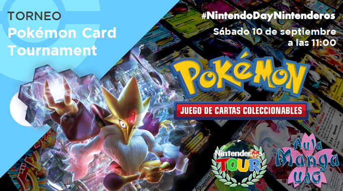 Torneo 'Pokémon TCG' | AMU Pokémon Card Tournament