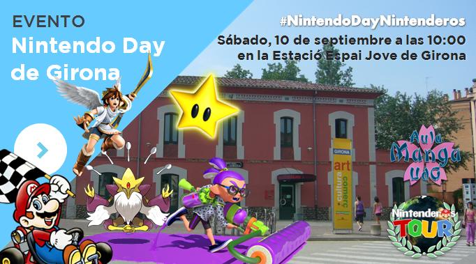 Nintendo Day Girona | Evento AulaManga