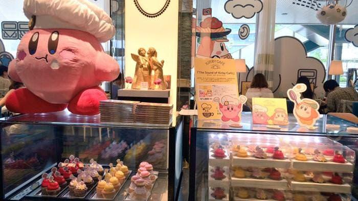 Primeras fotos del interior de Kirby Cafe