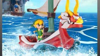 First 4 Figures anuncia la figura de Link sobre el Mascarón Rojo de 'Zelda: The Wind Waker'