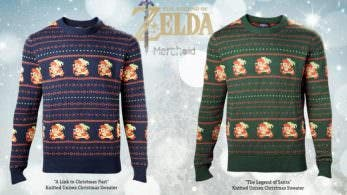 Estos jerséis de 'The Legend of Zelda' ya se pueden reservar en Merchoid