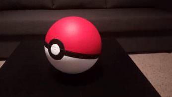 Esta Poké Ball se balancea cuando un Pokémon de 'Pokémon GO' está cerca