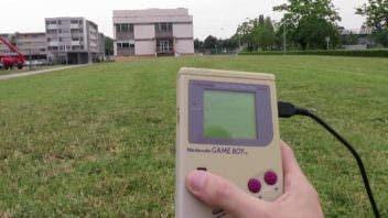 Game Boy control remoto de Dron