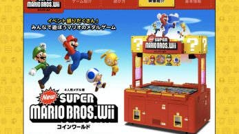 Echad un vistazo a la recreativa 'New Super Mario Bros. Wii Coin World'