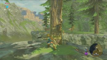 El hacha de cortar madera protagoniza el último clip de 'Zelda: Breath of the Wild'