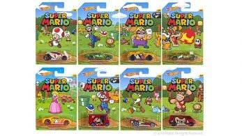 Echa un vistazo a la nueva colección de 'Hot Wheels' de 'Super Mario'