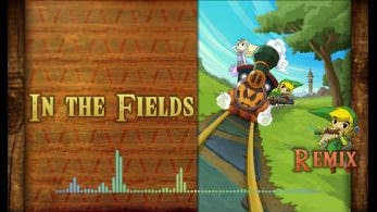 No te pierdas este remix del tema 'In the Fields' de 'Zelda: Spirit Tracks'