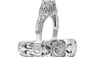 Observa estos anillos de boda inspirados en 'The Legend of Zelda'
