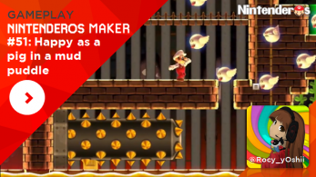 [Gameplay] Nintenderos Maker #51: Happy as a pig in a mud puddle