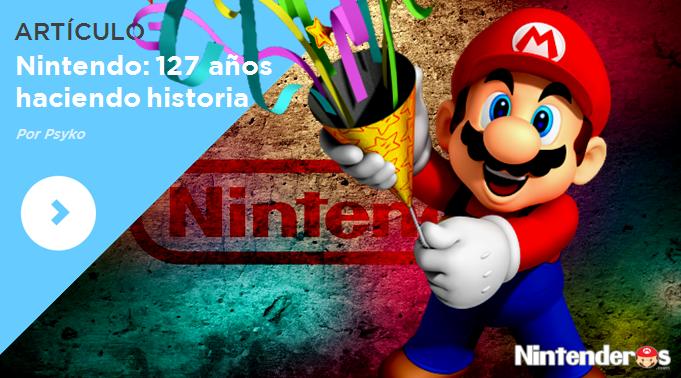 [Artículo] Nintendo: 127 años haciendo historia