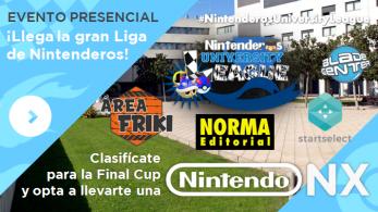 Nintenderos University League | ¡Consigue una NX y muchos premios!