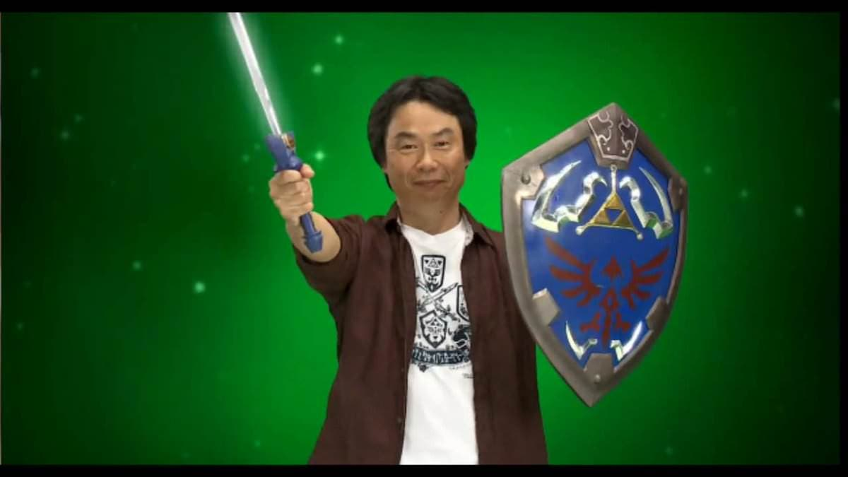 miyamoto the legend of zelda