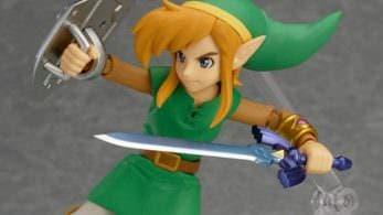 Unboxing de la figura Figma de Link de 'A Link Between Worlds'