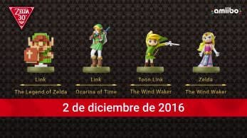 Unboxing de los amiibo del 30 aniversario de 'The Legend of Zelda'