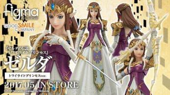 Se anuncia una nueva figura figma de Zelda de 'Twilight Princess'