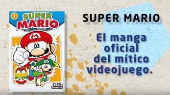 El primer tomo del manga 'Super Mario: Aventuras' saldrá a finales noviembre