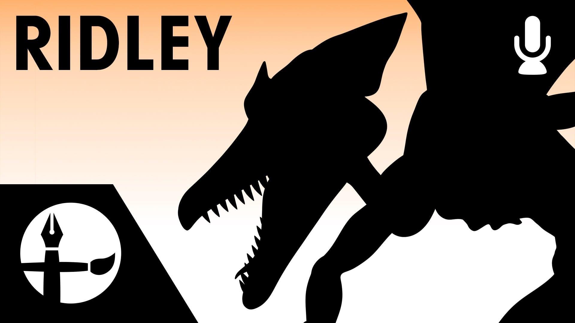 No te pierdas el espectacular proceso de creación de este fan-art de Ridley para 'Smash Bros.'