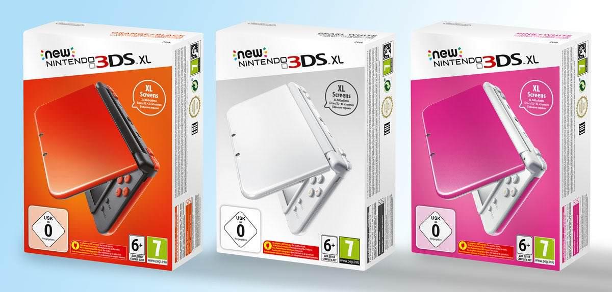 Compara las versiones Naranja+Negro y Blanco Perla de New 3DS XL con este unboxing