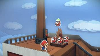"Nuevo gameplay de 'Paper Mario: Color Splash' – ""Infiltración en la flota"""