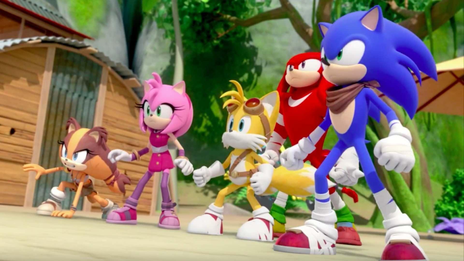 SEGA presenta a 'Sonic Boom: Fuego y Hielo' como una comedia romántica en su nuevo vídeo