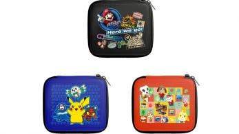 Nintendo y Hori anuncian tres nuevas fundas oficiales para Nintendo 2DS
