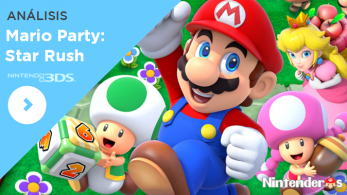 [Análisis] 'Mario Party: Star Rush'