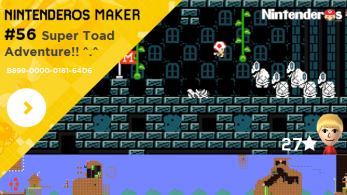 Nintenderos Maker #56: Super Toad Adventure!! ^.^