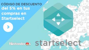 ¡Consigue un 5% de descuento en tus compras de Startselect con Nintenderos!