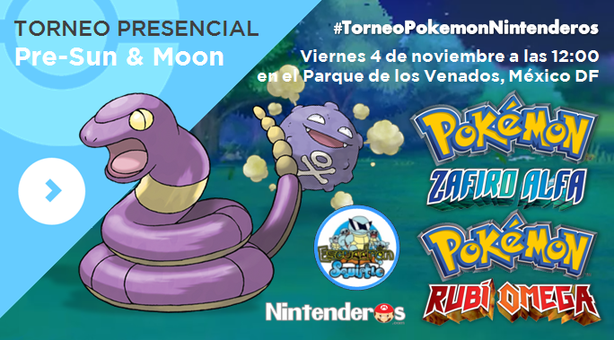 Torneo 'Pokémon RO/ZA'   Pre-Sun & Moon