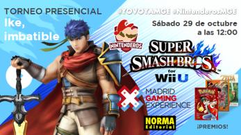 Torneo 'Smash Bros Wii U'   Ike, imbatible #MGE