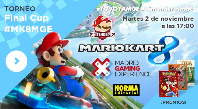 Torneo 'Mario Kart 8' | Final Cup #MK8MGE
