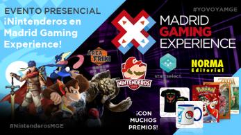 ¡Nintenderos estará presente en Madrid Gaming Experience con stand propio! #YOVOYAMGE