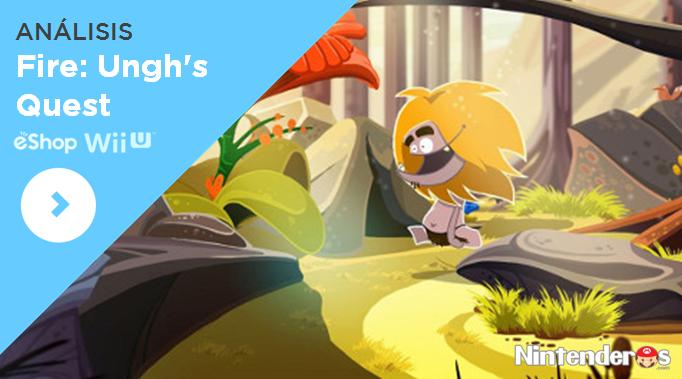 [Análisis] 'Fire: Ungh's Quest' (eShop Wii U)