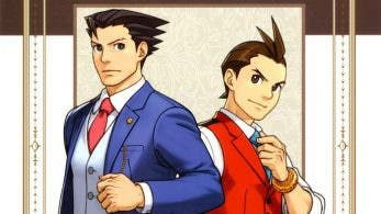 Portada y primeras páginas del artbook 'Ace Attorney: Illustration Archives'