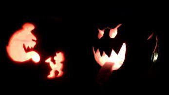 Nintendo comparte unas estupendas plantillas para decorar nuestras calabazas de Halloween