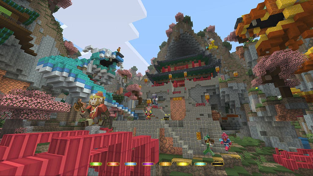 No te pierdas este gameplay del pack Mitología China de 'Minecraft: Wii U Edition'