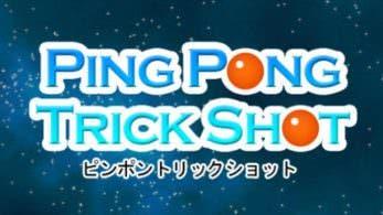 'Ping Pong Trick Shot' llegará a la eShop europea la próxima semana