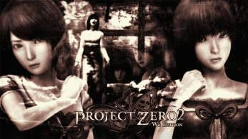 Gameplay de 'Project Zero 2: Wii Edition' de la eShop de Wii U