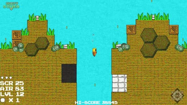 [Act.] Booty Diver llegará a la eShop norteamericana de Wii U la próxima semana, tráiler de lanzamiento