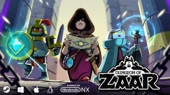 'Dungeon of Zaar' consigue la financiación suficiente para salir en Switch