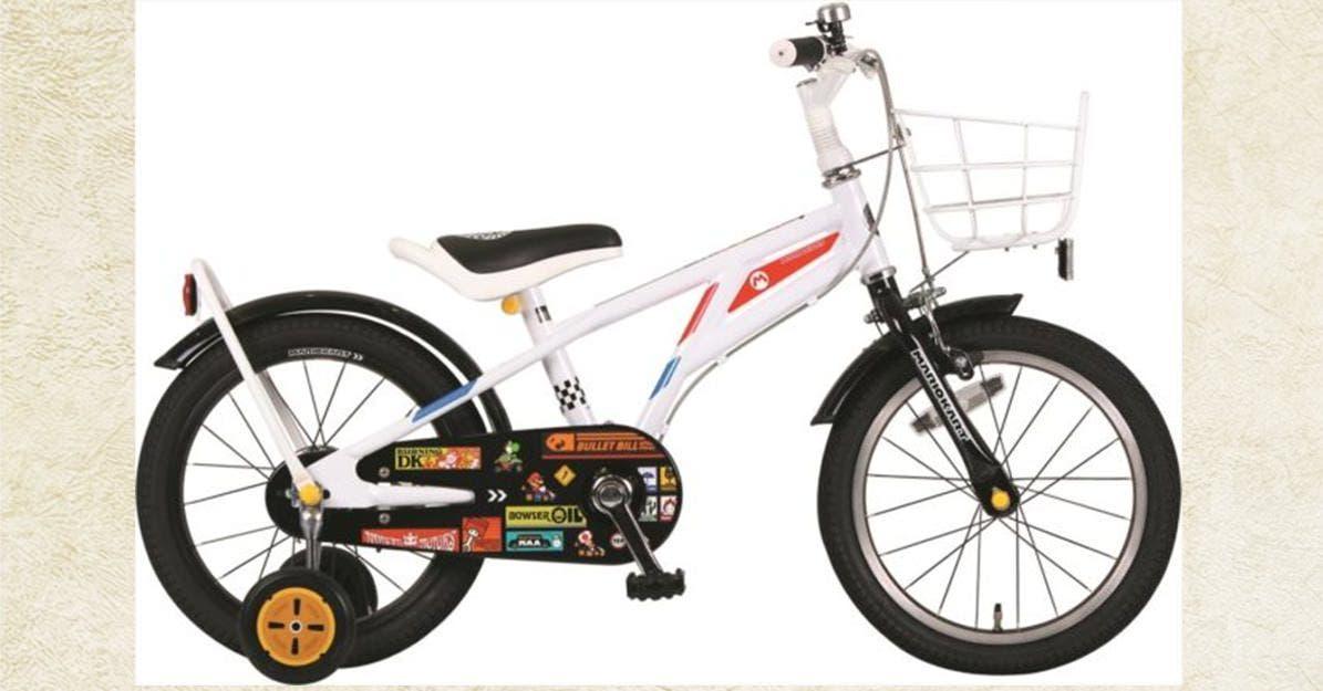 Esta bicicleta de 'Mario Kart' licenciada por Nintendo ya está disponible en Japón