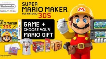 Consigue un regalo reservando 'Super Mario Maker 3DS' en la tienda online de Nintendo UK